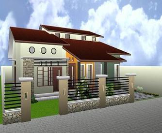 Desain Rumah Sederhana 1 Lantai | Rumah Unik Minimalis & Desain Rumah Sederhana 1 Lantai | Rumah Unik Mi...