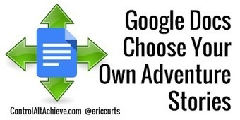 Choose Your Own Adventure Stories with Google Docs | Using Google Drive in the classroom | Scoop.it