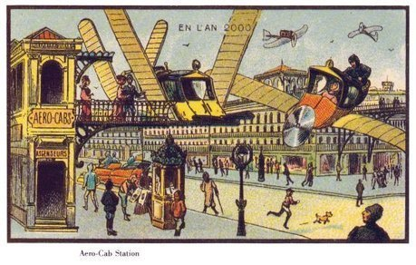 A vision of the future from 1899Pictures - CBS News | stationery | Scoop.it