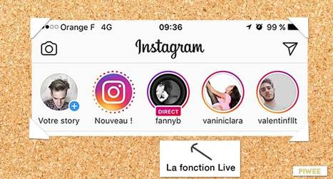 Instagram lance le Live en France ! | Actualité Social Media : blogs & réseaux sociaux | Scoop.it