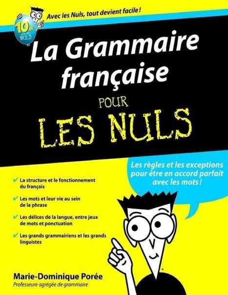 La Grammaire française pour les nuls | Ele &Fle Twitts | Scoop.it