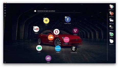 Test de Neon, le nouveau navigateur d'Opera - Korben | Au fil du Web | Scoop.it