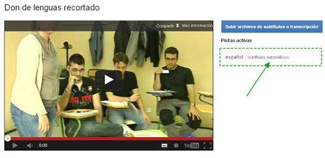MANUAL DE PRIMEROS AUXILIOS PARA UN DOCENTE 2.0: Subtitulando vídeos con Youtube   digital citizenship   Scoop.it