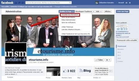 Rappel utile : Groupe, page, profil… le point sur votre communication sur Facebook | eTourisme - Eure | Scoop.it