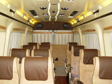 Hire Luxury Tempo Traveller In Gujarat To Outstation Tour