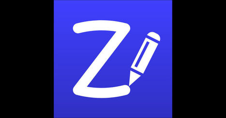 ZoomNotes- Notetake, Sketch, PDF, Present on the App Store | iPads in Education Daily | Scoop.it