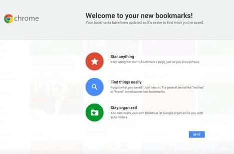 "Google's New Bookmarking Interface, Formerly Called ""Stars,"" Goes Live In ... - TechCrunch 