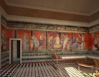 Villa reconstruction 1— Pompeii, Italy. | Roma Antiqua | Scoop.it