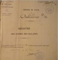 Retrouver un soldat blessé de la 1ère guerre mondiale grâce aux archives de la SAMHA   Généalogie facile   Histoire Familiale   Scoop.it