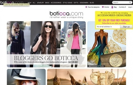 Case Study: Boticca Pinterest Page Drives More Sales Than Facebook | PINTEREST Watch - Curated by Jan Gordon | Scoop.it