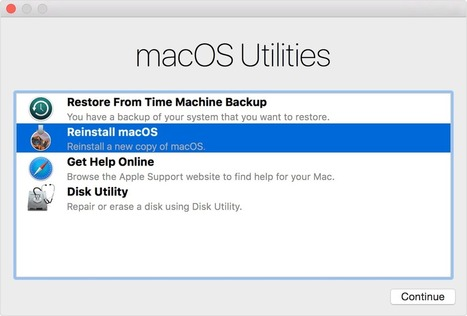 How to reinstall macOS   Mac Tech Support   Scoop.it