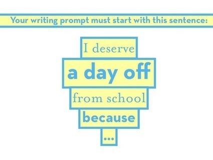 6 persuasive writing prompts | TEFL & Ed Tech | Scoop.it