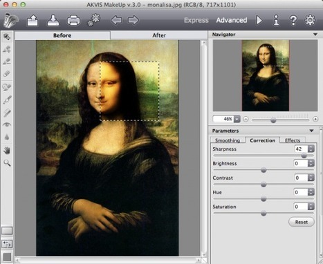 2 logiciels de retouche portrait gratuit à l'essai | L'atelier numérique des arts | Scoop.it