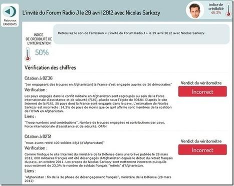 Fact-checking récursif de la présidentielle | Social Politics | Scoop.it