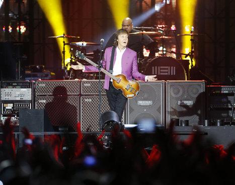 Paul McCartney a envoûté la foule du stade Vélodrome | Marseille ma Belle | Scoop.it