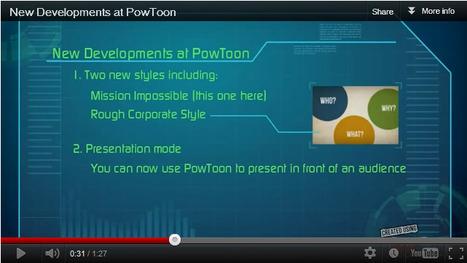 New Developments at PowToon | Digital Presentations in Education | Scoop.it