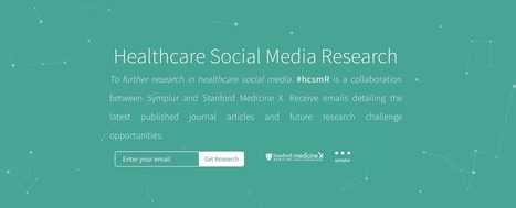 New resource for research in healthcare social media – #hcsmR | Notebook | Scoop.it