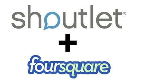 Shoutlet taps into Foursquare for check in-based social media marketing | The Perfect Storm Team | Scoop.it