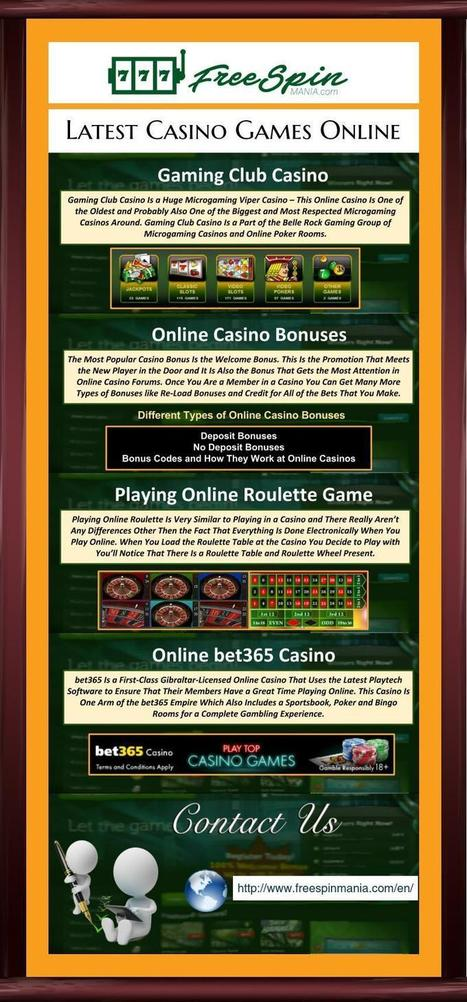 Gaming Club Casino In Free Spin Mania Scoop It