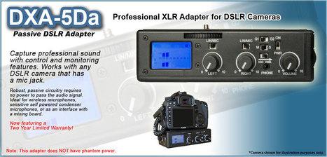BeachTek DXA-5Da Passive DSLR Adapter | Everything Photographic | Scoop.it