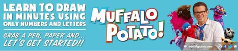 Muffalo Potato - Drawing with Letters and Numbers - Fun YouTube Videos | Education Matters - (tech and non-tech) | Scoop.it
