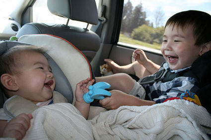Driving with children 12 times more distracting than talking on the cellphone | It's Show Prep for Radio | Scoop.it