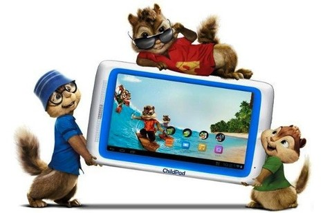 Archos 7-inch Child Pad with ICS now on sale for $130, Aaaalvin squeaks in celebration | kenkwl | Scoop.it