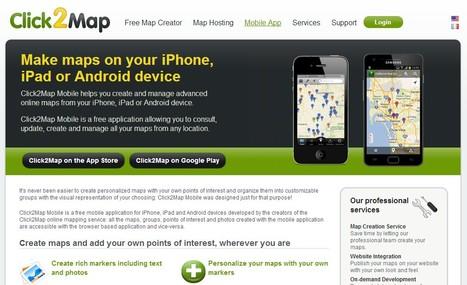 Click2Map - Online Map Creator | iEduc | Scoop.it