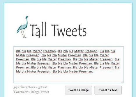 Comment publier un tweet de plus de 140 caractères ? | Blog du Modérateur | Tout savoir sur Twitter | Scoop.it