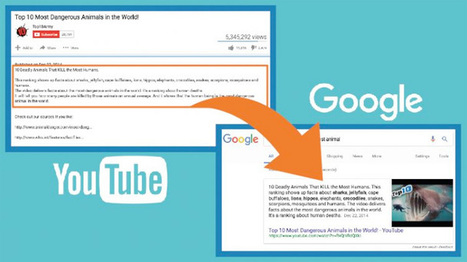 New Featured Snippets Opportunity: YouTube Descriptions | Online Marketing Resources | Scoop.it