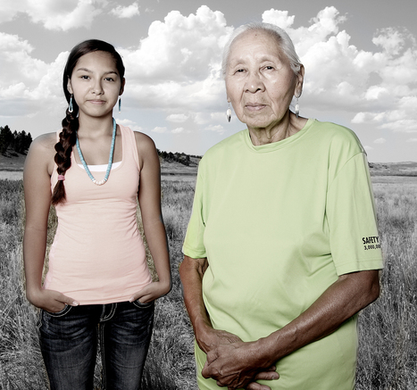 Native American travels across U.S. photographing citizens of tribal nations | Native Americans and Mesopotamia | Scoop.it