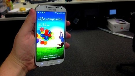 Samsung Galaxy S4 Australian Hands-On: The Same, But Completely Different | All Technology Buzz | Scoop.it