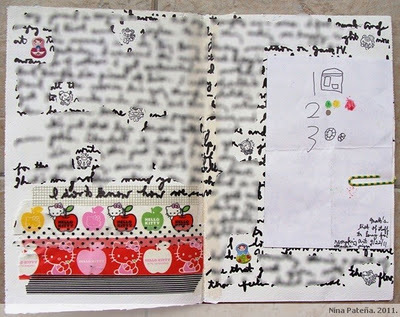 Pasig Mom: Washi tape + art journal | Journal For You! | Scoop.it
