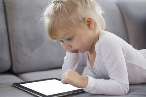 Tien tips voor tabletgebruik door peuters en kleuters - Nieuws - Data News.be   ICT kleuterklas   Scoop.it