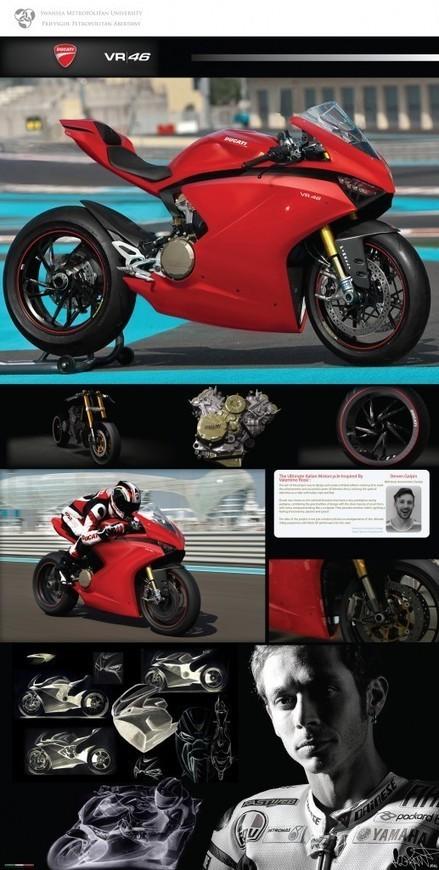 Ducati Superbike Design by Steven Galpin | Ductalk Ducati News | Scoop.it