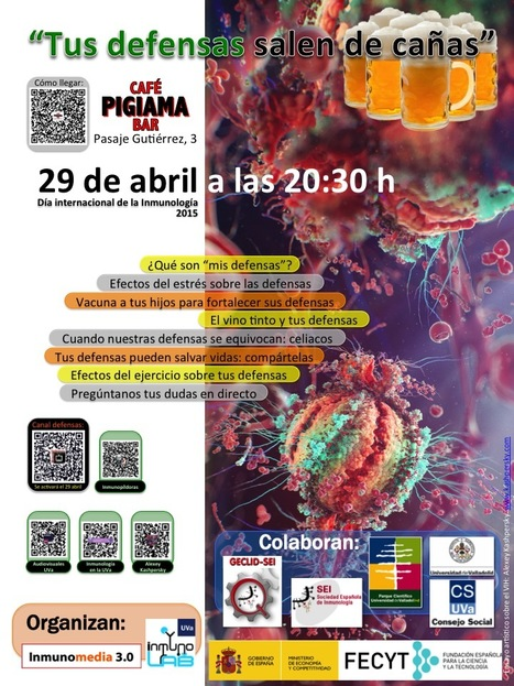 "Las defensas salieron ""de cañas"" el 29 de abril en Valladolid 