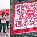 World Record human QR code | Coca-Cola | artcode | Scoop.it