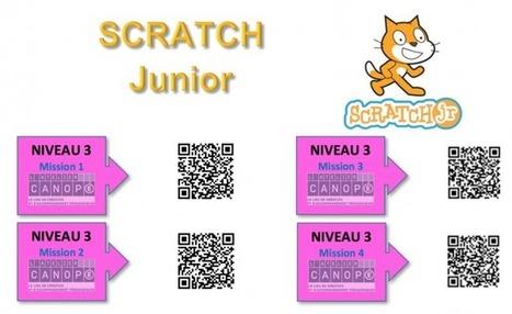 SCRATCH Junior, des missions ludiques et créatives pour initier vos élèves au codage @canope_78 | Stretching our comfort zone | Scoop.it