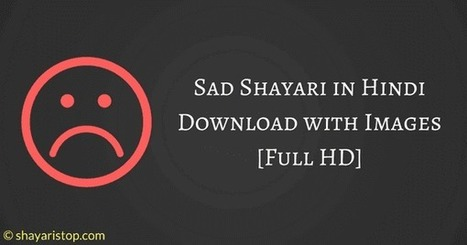 Sad Shayari In Hindi Download With Full Hd Ima