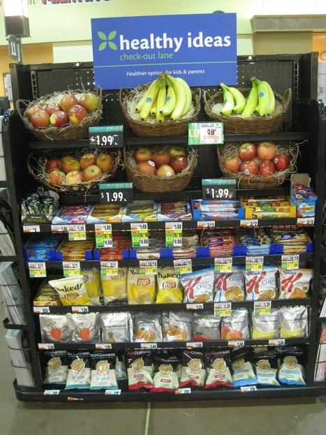 Healthy checkout lanes. Finally no soda and candy there =>Martins Tests Healthy Checkout Lanes | REAL World Wellness | Scoop.it