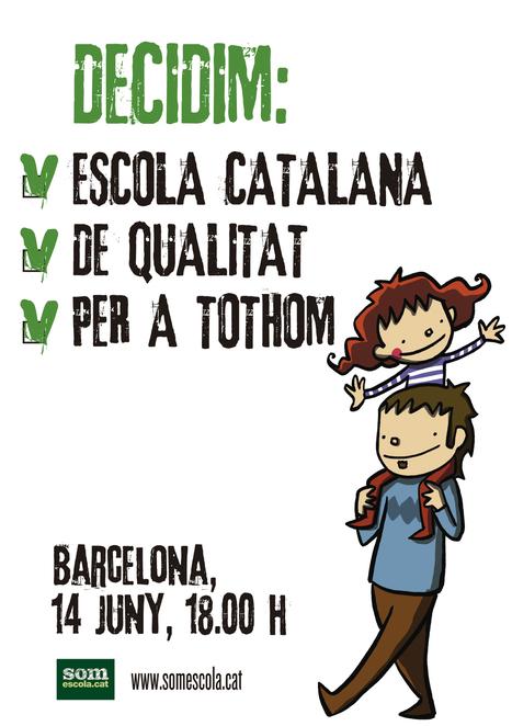 Per un país de tots, decidim escola catalana #somescola14J | Escola i Educació 2.0 | Scoop.it