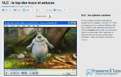 Le top des trucs et astuces pour VLC | Time to Learn | Scoop.it