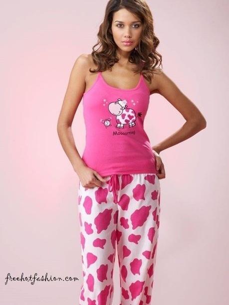 Stylish Night Dresses 2013 For Women Girl