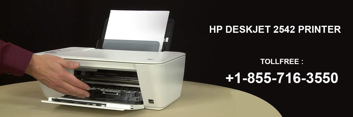How to Install HP Deskjet 2542 printer without