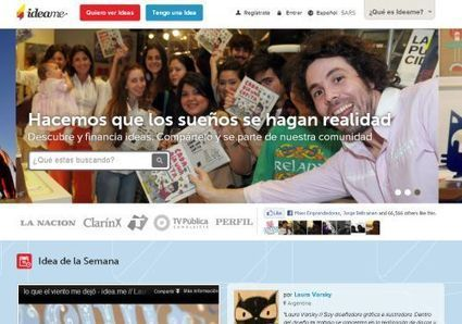 Idea.me ya es la plataforma más grande de financiamiento | Ciencia y Tecnología Iberoamericana | Scoop.it