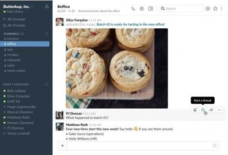 Slack estrena la función de hilos de mensajes en su servicio | #SocialMedia, #SEO, #Tecnología & más! | Scoop.it