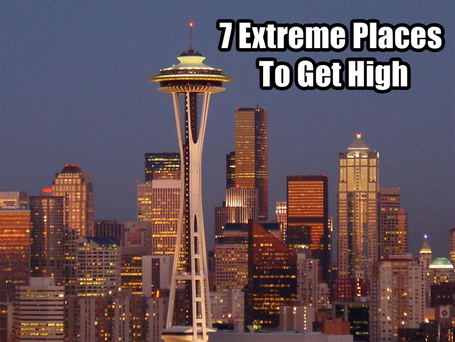 7 Extreme Places to Get High