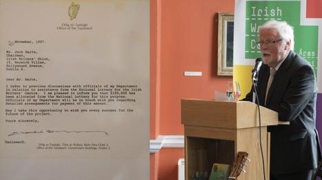 Charlie Haughey, Anthony Cronin and a dream: how Irish Writers Centre began | The Irish Literary Times | Scoop.it
