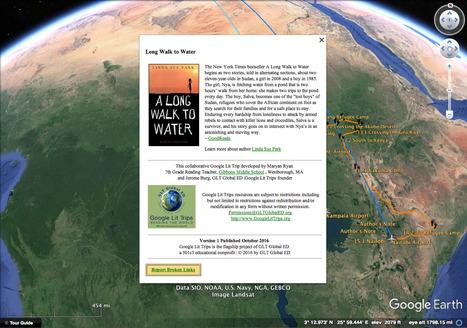 A Long Walk to Water Google Lit Trip Now Available | Google Lit Trips: Reading About Reading | Scoop.it