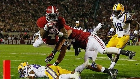 Nick Saban breaks character, uses trickery to turn Tide in rout of Tigers | txwikinger-news | Scoop.it